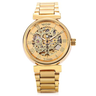 Winner U8022 Men Auto Mechanical WatchMens Watches<br>Winner U8022 Men Auto Mechanical Watch<br><br>Band material: Stainless Steel<br>Band size: 24 x 1.8cm / 9.45 x 0.71 inches<br>Brand: Winner<br>Case material: Alloy<br>Clasp type: Sheet folding clasp<br>Dial size: 4 x 4 x 1cm / 1.57 x 1.57 x 0.39 inches<br>Display type: Analog<br>Movement type: Automatic mechanical watch<br>Package Contents: 1 x Watch<br>Package size (L x W x H): 12.00 x 5.00 x 2.00 cm / 4.72 x 1.97 x 0.79 inches<br>Package weight: 0.1410 kg<br>Product size (L x W x H): 24.00 x 4.00 x 1.00 cm / 9.45 x 1.57 x 0.39 inches<br>Product weight: 0.1000 kg<br>Shape of the dial: Round<br>Special features: Luminous<br>Watch mirror: Mineral glass<br>Watch style: Business, Fashion<br>Watches categories: Male table<br>Water resistance : Life water resistant