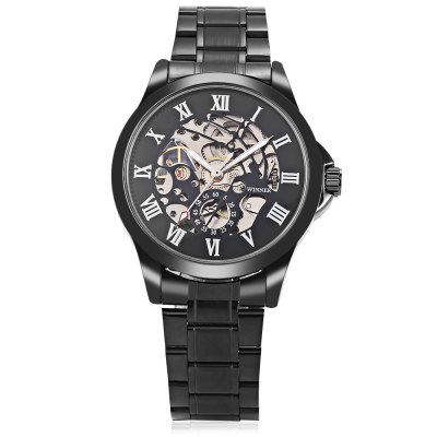 Winner 1004 Men Auto Mechanical WatchMens Watches<br>Winner 1004 Men Auto Mechanical Watch<br><br>Band material: Stainless Steel<br>Band size: 24 x 1.8cm / 9.45 x 0.71 inches<br>Brand: Winner<br>Case material: Alloy<br>Clasp type: Sheet folding clasp<br>Dial size: 4 x 4 x 1cm / 1.57 x 1.57 x 0.39 inches<br>Display type: Analog<br>Movement type: Automatic mechanical watch<br>Package Contents: 1 x Watch<br>Package size (L x W x H): 12.00 x 5.00 x 2.00 cm / 4.72 x 1.97 x 0.79 inches<br>Package weight: 0.1410 kg<br>Product size (L x W x H): 24.00 x 4.00 x 1.00 cm / 9.45 x 1.57 x 0.39 inches<br>Product weight: 0.1100 kg<br>Shape of the dial: Round<br>Special features: Luminous<br>Watch mirror: Mineral glass<br>Watch style: Business, Fashion<br>Watches categories: Male table<br>Water resistance : Life water resistant
