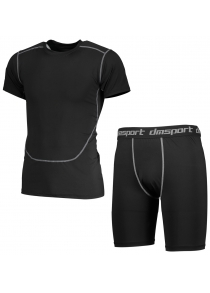 CTSmart Breathable Quick-drying Exercise T-shirt Training Suit