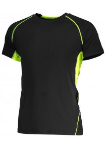 Multifunctional Fitness Pure Color T Shirt