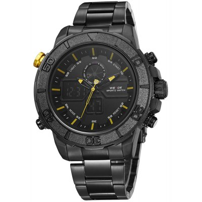 WEIDE 6108 Male Dual Movt Watch