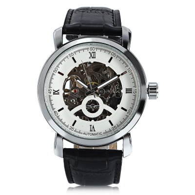 Winner A540 Men Auto Mechanical WatchMens Watches<br>Winner A540 Men Auto Mechanical Watch<br><br>Band material: Leather<br>Band size: 26 x 2cm / 10.24 x 0.79 inches<br>Brand: Winner<br>Case material: Alloy<br>Clasp type: Pin buckle<br>Dial size: 4.8 x 4.8 x 1.3cm / 1.89 x 1.89 x 0.51 inches<br>Display type: Analog<br>Movement type: Automatic mechanical watch<br>Package Contents: 1 x Watch<br>Package size (L x W x H): 27.00 x 5.80 x 2.30 cm / 10.63 x 2.28 x 0.91 inches<br>Package weight: 0.0920 kg<br>Product size (L x W x H): 26.00 x 4.80 x 1.30 cm / 10.24 x 1.89 x 0.51 inches<br>Product weight: 0.0610 kg<br>Shape of the dial: Round<br>Special features: Luminous<br>Watch mirror: Mineral glass<br>Watch style: Fashion, Business<br>Watches categories: Male table<br>Water resistance : Life water resistant<br>Wearable length: 19.00 - 24.00cm / 7.48 - 9.45 inches