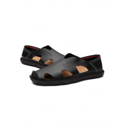Comfy Fisherman Men SandalsMens Sandals<br>Comfy Fisherman Men Sandals<br><br>Contents: 1 x Pair of Shoes<br>Materials: Leather, Rubber<br>Occasion: Casual, Daily<br>Package Size ( L x W x H ): 33.00 x 22.00 x 11.00 cm / 12.99 x 8.66 x 4.33 inches<br>Package Weights: 0.670kg<br>Pattern Type: Solid<br>Seasons: Summer<br>Size: 38,39,40,41,42,43,44<br>Style: Comfortable, Fashion, Leisure<br>Type: Sandals