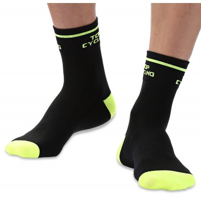 Pair of TOP CYCLING Unisex Cool Compression Cycling Socks