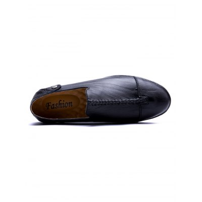 British Style Slip-on Seam Upper Men Causal LoafersCasual Shoes<br>British Style Slip-on Seam Upper Men Causal Loafers<br><br>Contents: 1 x Pair of Shoes<br>Materials: Genuine Leather, Rubber<br>Occasion: Casual<br>Package Size ( L x W x H ): 32.00 x 18.00 x 12.00 cm / 12.6 x 7.09 x 4.72 inches<br>Package Weights: 0.780kg<br>Seasons: Autumn,Spring,Summer<br>Style: Leisure<br>Type: Casual Shoes