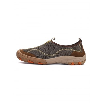 Outdoor Mesh Breathable Leisure Shoes for MenCasual Shoes<br>Outdoor Mesh Breathable Leisure Shoes for Men<br><br>Contents: 1 x Pair of Shoes<br>Materials: Mesh<br>Occasion: Casual<br>Package Size ( L x W x H ): 33.00 x 22.00 x 11.00 cm / 12.99 x 8.66 x 4.33 inches<br>Package Weights: 0.67kg<br>Seasons: Spring,Summer<br>Style: Comfortable, Leisure<br>Type: Casual Shoes