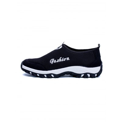 Casual Breathable Mesh  Men ShoesCasual Shoes<br>Casual Breathable Mesh  Men Shoes<br><br>Contents: 1 x Pair of Shoes<br>Materials: Mesh, Rubber<br>Occasion: Casual<br>Package Size ( L x W x H ): 33.00 x 22.00 x 11.00 cm / 12.99 x 8.66 x 4.33 inches<br>Package Weights: 0.870<br>Seasons: Autumn,Spring,Summer<br>Style: Leisure, Fashion, Comfortable<br>Type: Casual Shoes