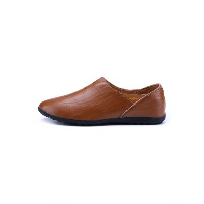 British Style Slip-on PU Leather Men Casual LoafersCasual Shoes<br>British Style Slip-on PU Leather Men Casual Loafers<br><br>Contents: 1 x Pair of Shoes<br>Materials: Microfiber, PU, Rubber<br>Occasion: Casual<br>Package Size ( L x W x H ): 33.00 x 22.00 x 11.00 cm / 12.99 x 8.66 x 4.33 inches<br>Package Weights: 0.680kg<br>Seasons: Autumn,Spring,Summer<br>Style: Leisure<br>Type: Casual Shoes