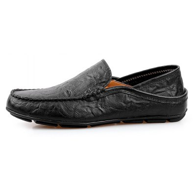 Casual Slip On Men Leather Shoes