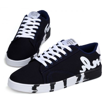 Fashion Lace Up Street Dance Men Casual Shoes