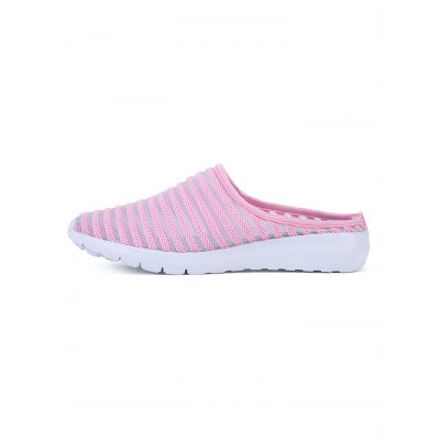 Striped Mesh Women Casual SlippersWomens Sandals<br>Striped Mesh Women Casual Slippers<br><br>Contents: 1 x Pair of Shoes<br>Materials: MD, Woven Fabric<br>Occasion: Casual<br>Package Size ( L x W x H ): 30.00 x 18.00 x 11.00 cm / 11.81 x 7.09 x 4.33 inches<br>Package Weights: 0.630kg<br>Seasons: Summer<br>Style: Leisure<br>Type: Slippers