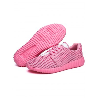 Mesh Breathable Women Sports ShoesWomens Sneakers<br>Mesh Breathable Women Sports Shoes<br><br>Contents: 1 x Pair of Shoes<br>Materials: Mesh<br>Occasion: Casual<br>Package Size ( L x W x H ): 33.00 x 22.00 x 11.00 cm / 12.99 x 8.66 x 4.33 inches<br>Package Weights: 0.52kg<br>Seasons: Spring,Summer<br>Style: Comfortable, Leisure<br>Type: Casual Shoes