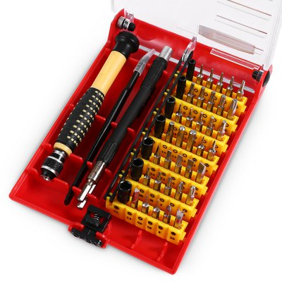 JACKLY 6089C 46 in 1 Screwdriver Kit Repairing Tool
