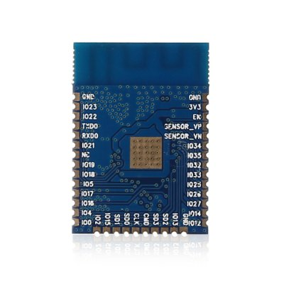 ESP - 32S WiFi Bluetooth 4.2 Combo ModuleTransmitters &amp; Receivers module<br>ESP - 32S WiFi Bluetooth 4.2 Combo Module<br><br>Mainly Compatible with: Ardunio<br>Model: ESP - 32S<br>Package Contents: 1 x ESP - 32S WiFi Bluetooth Combo Module<br>Package Size(L x W x H): 7.50 x 6.00 x 1.40 cm / 2.95 x 2.36 x 0.55 inches<br>Package weight: 0.0130 kg<br>Product Size(L x W x H): 2.50 x 1.80 x 0.40 cm / 0.98 x 0.71 x 0.16 inches<br>Product weight: 0.0020 kg<br>Transmission Type: Bluetooth, WiFi
