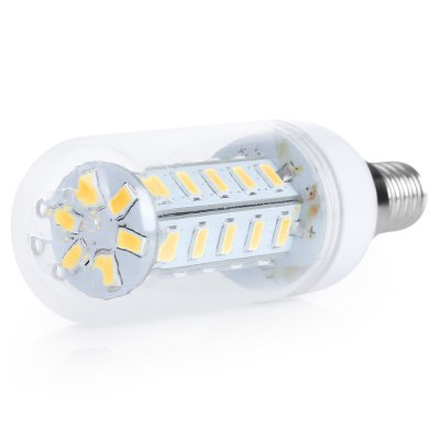 E14 LED Corn Bulb AC110VCorn Bulbs<br>E14 LED Corn Bulb AC110V<br><br>Available Light Color: Warm White<br>CCT/Wavelength: 3000-3500K<br>Emitter Types: SMD 5730<br>Features: Low Power Consumption, Long Life Expectancy, Energy Saving<br>Function: public places, Home Lighting, Outdoor lighting, Commercial Lighting, Outdoor Lighting,  playing fields,  stage lighting,  including building and landscape beautification<br>Holder: E14<br>Luminous Flux: 650Lm<br>Output Power: 7W<br>Package Contents: 1 x LED Corn Bulb<br>Package size (L x W x H): 11.00 x 4.00 x 5.00 cm / 4.33 x 1.57 x 1.97 inches<br>Package weight: 0.0450 kg<br>Product size (L x W x H): 10.00 x 3.10 x 3.10 cm / 3.94 x 1.22 x 1.22 inches<br>Product weight: 0.0280 kg<br>Sheathing Material: PC, Aluminum<br>Total Emitters: 36<br>Type: Corn Bulbs<br>Voltage (V): AC 110<br>Wattage Range: 5-10W