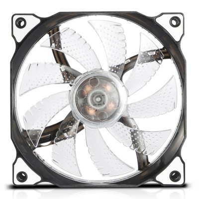 Segotep LED CPU Cooler Fan Temperature ControllerCPU Cooler<br>Segotep LED CPU Cooler Fan Temperature Controller<br><br>Brand: Segotep<br>CFM: 41.2<br>Compatible: LGA1150, Inter LGA775, Inter LGA1366, Inter LGA1156, Inter LGA1155, Celeron D, AMD940, AMD939, AMD754, AMD FM1, AMD AM3, AMD AM2+, AMD AM2<br>Fan Pin: 3 pin<br>Mounting Hole Size: 12CM<br>Package Contents: 1 x Segotep CPU Cooling Fan<br>Package size (L x W x H): 14.00 x 4.00 x 15.00 cm / 5.51 x 1.57 x 5.91 inches<br>Package weight: 0.1900 kg<br>Product size (L x W x H): 12.00 x 2.50 x 12.00 cm / 4.72 x 0.98 x 4.72 inches<br>Product weight: 0.1000 kg<br>Speed: 1100RPM