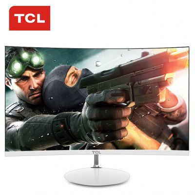 TCL T24M6C 23.6 inch Screen 1800R Curved Monitor
