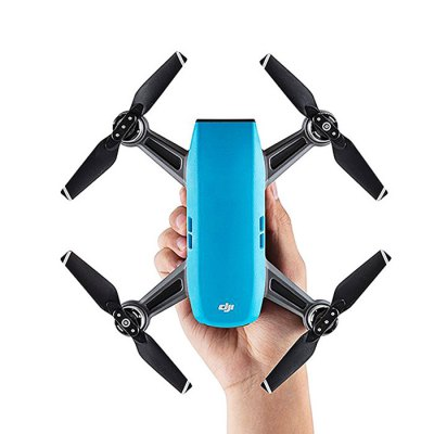 DJI Spark Mini RC Selfie DroneRC Quadcopters<br>DJI Spark Mini RC Selfie Drone<br><br>Battery: 1480mAh 11.4V 16.87Wh LiPo ( included )<br>Battery Weight: approx. 0.2lbs ( 95g )<br>Brand: DJI<br>Built-in Gyro: 6 Axis Gyro<br>Camera Pixels: 3968 x 2976 ( JPEG ), 12MP<br>Channel: No Transmitter<br>Compatible with Additional Gimbal: No<br>Detailed Control Distance: 100m<br>Diagonal Length: 170mm<br>Features: Brushless Version, WiFi FPV, WiFi APP Control, Camera<br>Flying Time: 15 - 16mins<br>FPV Distance: 100m<br>Functions: WiFi Connection, Visual Tracking, Up/down, Turn left/right, Face recognition, Forward/backward, Gesture Mode, Headless Mode, One Key Automatic Return, Sense and Avoid, Sport Mode, Tap to Fly<br>Hover Accuracy: vertical: + / -0.1m ( when Vision Positioning is active ) or + / -0.5m; horizontal: + / -0.3m ( when Vision Positioning is active ) or + / -1.5m<br>Kit Types: BNF<br>Level: Advanced Level<br>Max Ascent Speed: 9.8 feet/s ( 3m/s ) in Sport Mode without wind<br>Max Descent Speed: 9.8 feet/s ( 3m/s ) in Sport Mode without wind<br>Max Flying Height: 13,123 feet ( 4,000m )<br>Max Speed: 31 mph ( 50 kph ) in Sport Mode without wind<br>Model: Spark<br>Model Power: Rechargeable Battery<br>Motor Type: Brushless Motor<br>Package Contents: 1 x Aircraft, 3 x Pair of Propellers, 1 x Intelligent Flight Battery, 1 x Charger, 1 x Micro USB Cable, 1 x Storage Box<br>Package size (L x W x H): 25.00 x 21.00 x 7.50 cm / 9.84 x 8.27 x 2.95 inches<br>Package weight: 0.7100 kg<br>Product size (L x W x H): 14.30 x 14.30 x 5.50 cm / 5.63 x 5.63 x 2.17 inches<br>Product weight: 0.3000 kg<br>Radio Mode: WiFi APP<br>Remote Control: 2.4GHz Wireless Remote Control<br>Satellite System: GLONASS,GPS<br>Size: Mini<br>Transmitter Power: No transmitter included<br>Type: Outdoor, Quadcopter, Indoor<br>Video Resolution: FHD: 1920 x 1080 30fps ( MP4 )