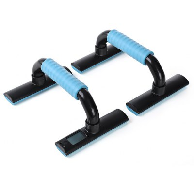 Pair of KYTO TPE Handle Push-up Bar with Digital Counter