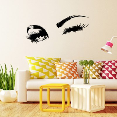 Eye Printed Removable Wall Sticker WallpaperWall Stickers<br>Eye Printed Removable Wall Sticker Wallpaper<br><br>Package Contents: 1 x Sticker<br>Package size (L x W x H): 29.50 x 6.00 x 6.00 cm / 11.61 x 2.36 x 2.36 inches<br>Package weight: 0.1640 kg<br>Product size (L x W x H): 58.00 x 18.00 x 0.10 cm / 22.83 x 7.09 x 0.04 inches