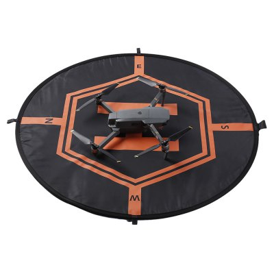Universal 80cm Two-sided Luminous Landing PadRC Quadcopter Parts<br>Universal 80cm Two-sided Luminous Landing Pad<br><br>Compatible with: DJI,  Xiaomi,  Zerotech RC drones etc.<br>Package Contents: 1 x Landing Pad, 1 x Reflective Strip Set, 3 x Peg<br>Package size (L x W x H): 30.00 x 30.00 x 3.60 cm / 11.81 x 11.81 x 1.42 inches<br>Package weight: 0.3400 kg<br>Product size (L x W x H): 80.00 x 80.00 x 0.60 cm / 31.5 x 31.5 x 0.24 inches<br>Product weight: 0.2820 kg<br>Type: Pad