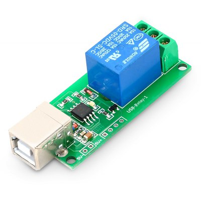 LDTR - WG0100 USB Control Switch Relay Module for PC