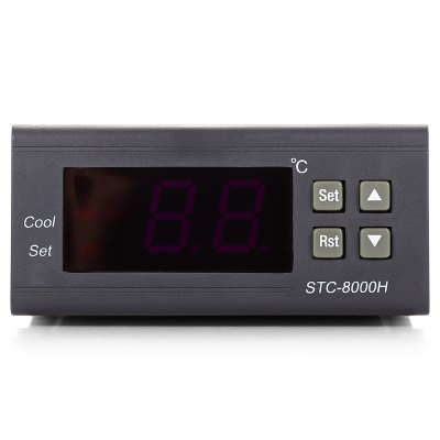 Micro Digital Temperature Controller with LCD ScreenTemperature Instruments<br>Micro Digital Temperature Controller with LCD Screen<br><br>Package Contents: 1 x Digital Temperature Controller, 1 x Probe Cable, 1 x English User Manual<br>Package size (L x W x H): 10.00 x 8.00 x 6.00 cm / 3.94 x 3.15 x 2.36 inches<br>Package weight: 0.2320 kg<br>Product weight: 0.1660 kg<br>Range: - 50 - 99 Degree Celsius<br>Temperature Type: Celsius