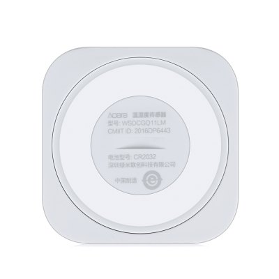 Xiaomi Aqara Temperature Humidity SensorAccess Control<br>Xiaomi Aqara Temperature Humidity Sensor<br><br>Brand: Xiaomi<br>Color: Milk White<br>Material: Plastic<br>Model: Aqara<br>Package Contents: 1 x Xiaomi Aqara Temperature Humidity Sensor, 1 x Chinese User Manual<br>Package size (L x W x H): 7.70 x 11.00 x 2.70 cm / 3.03 x 4.33 x 1.06 inches<br>Package weight: 0.0570 kg<br>Product size (L x W x H): 3.60 x 3.60 x 0.90 cm / 1.42 x 1.42 x 0.35 inches<br>Product weight: 0.0110 kg