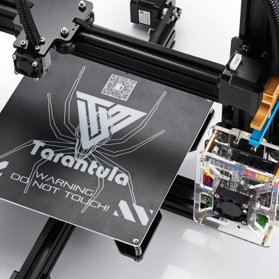 Tevo Tarantula Prusa I3 3D Printer DIY Kit3D Printers, 3D Printer Kits<br>Tevo Tarantula Prusa I3 3D Printer DIY Kit<br><br>Engraving Area: 200 x 280 x 200 mm<br>File format: G-code, STL<br>Frame material: Aluminium Extrusion<br>Language: English<br>Material diameter: 1.75mm<br>Memory card offline print: SD card<br>Model: Tarantula Prusa I3<br>Nozzle diameter: 0.4mm<br>Package size: 48.00 x 36.00 x 24.00 cm / 18.9 x 14.17 x 9.45 inches<br>Package weight: 10.1000 kg<br>Packing Contents: 1 x Tevo Tarantula 3D Printer Kit with Assembly Tools, 1 x 8GB SD Card, 1 x English Assembly Instructions, 1 x USB 2.0 Bundle, 2 x Rolls of Free Filaments ( Colors Random )<br>Packing Type: unassembled packing<br>Print speed: Max 150 mm/s.<br>Product size: 43.00 x 43.00 x 40.00 cm / 16.93 x 16.93 x 15.75 inches<br>Product weight: 8.0000 kg<br>Supporting material: ABS, Wood, PVA, PLA, PETG, Nylon<br>System support: Mac, Windows,  Linux<br>Type: DIY<br>Voltage: 110V/220V<br>Working Power: 250W<br>XY-axis positioning accuracy: 0.012mm<br>Z-axis positioning accuracy: 0.004mm