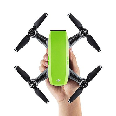 DJI Spark Mini RC Selfie DroneRC Quadcopters<br>DJI Spark Mini RC Selfie Drone<br><br>Battery: 1480mAh 11.4V 16.87Wh LiPo ( included )<br>Battery Weight: approx. 0.2lbs ( 95g )<br>Brand: DJI<br>Built-in Gyro: 6 Axis Gyro<br>Camera Pixels: 3968 x 2976 ( JPEG ), 12MP<br>Channel: No Transmitter<br>Compatible with Additional Gimbal: No<br>Control Distance: 50-100m<br>Detailed Control Distance: 100m<br>Diagonal Length: 170mm<br>Features: WiFi FPV, WiFi APP Control, Camera, Brushless Version<br>Flying Time: 15 - 16mins<br>FPV Distance: 100m<br>Functions: WiFi Connection, Visual Tracking, Up/down, Turn left/right, Face recognition, Forward/backward, Gesture Mode, Headless Mode, One Key Automatic Return, Sport Mode, Tap to Fly, Sense and Avoid<br>Hover Accuracy: vertical: + / -0.1m ( when Vision Positioning is active ) or + / -0.5m; horizontal: + / -0.3m ( when Vision Positioning is active ) or + / -1.5m<br>Kit Types: BNF<br>Level: Advanced Level<br>Max Ascent Speed: 9.8 feet/s ( 3m/s ) in Sport Mode without wind<br>Max Descent Speed: 9.8 feet/s ( 3m/s ) in Sport Mode without wind<br>Max Flying Height: 13,123 feet ( 4,000m )<br>Max Speed: 31 mph ( 50 kph ) in Sport Mode without wind<br>Model: Spark<br>Model Power: Rechargeable Battery<br>Motor Type: Brushless Motor<br>Package Contents: 1 x Aircraft, 3 x Pair of Propellers, 1 x Intelligent Flight Battery, 1 x Charger, 1 x Micro USB Cable, 1 x Storage Box<br>Package size (L x W x H): 25.00 x 21.00 x 7.50 cm / 9.84 x 8.27 x 2.95 inches<br>Package weight: 0.7100 kg<br>Product size (L x W x H): 14.30 x 14.30 x 5.50 cm / 5.63 x 5.63 x 2.17 inches<br>Product weight: 0.3000 kg<br>Radio Mode: WiFi APP<br>Remote Control: 2.4GHz Wireless Remote Control<br>Satellite System: GLONASS,GPS<br>Size: Mini<br>Transmitter Power: No transmitter included<br>Type: Outdoor, Quadcopter, Indoor<br>Video Resolution: FHD: 1920 x 1080 30fps ( MP4 )