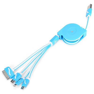 4-in-1 USB Hub 1m Extended Cable
