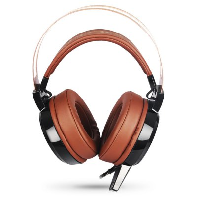SALAR C13 Stereo Gaming HeadsetEarbud Headphones<br>SALAR C13 Stereo Gaming Headset<br><br>Application: Computer<br>Brand: SALAR<br>Cable Length (m): 2.3m<br>Compatible with: Computer<br>Connectivity: Wired<br>Driver unit: 40mm<br>Frequency response: 20-20000Hz<br>Function: Microphone, Noise Cancelling<br>Impedance: 26ohms<br>Language: No<br>Material: Stainless Steel, PU Leather<br>Model: C13<br>Package Contents: 1 x SALAR C13 Stereo Gaming Headset<br>Package size (L x W x H): 27.00 x 25.00 x 12.50 cm / 10.63 x 9.84 x 4.92 inches<br>Package weight: 0.6350 kg<br>Product size (L x W x H): 22.00 x 17.50 x 10.00 cm / 8.66 x 6.89 x 3.94 inches<br>Product weight: 0.3930 kg<br>Sensitivity: 96dB ± 3dB<br>Wearing type: Headband
