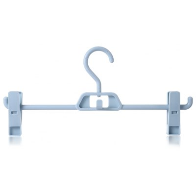 Rotary Clothes Pants Hanging Rack Garment Hanger with 2 Clips