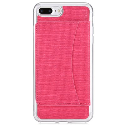 TPU Phone Case for iPhone 7 PlusiPhone Cases/Covers<br>TPU Phone Case for iPhone 7 Plus<br><br>Compatible for Apple: iPhone 7 Plus<br>Features: Anti-knock, Back Cover, Cases with Stand, With Credit Card Holder<br>Material: TPU<br>Package Contents: 1 x Phone Case<br>Package size (L x W x H): 17.50 x 11.00 x 2.10 cm / 6.89 x 4.33 x 0.83 inches<br>Package weight: 0.0810 kg<br>Product size (L x W x H): 16.00 x 8.00 x 1.10 cm / 6.3 x 3.15 x 0.43 inches<br>Product weight: 0.0590 kg<br>Style: Modern