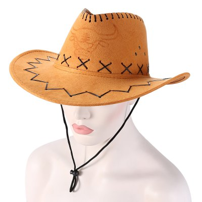 Unisex Breathable Hole Cowboy Hat with Adjustable DrawcordOther Sports Gadgets<br>Unisex Breathable Hole Cowboy Hat with Adjustable Drawcord<br><br>For: Casual, Fishing, Outdoor, Travel, Vocation<br>Package Contents: 1 x Cowboy Hat<br>Package size (L x W x H): 39.00 x 13.00 x 20.00 cm / 15.35 x 5.12 x 7.87 inches<br>Package weight: 0.1900 kg<br>Product size (L x W x H): 38.00 x 12.00 x 35.00 cm / 14.96 x 4.72 x 13.78 inches<br>Product weight: 0.1000 kg<br>Season: All seasons