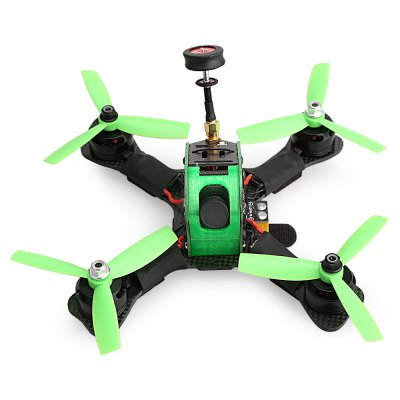 P180 180mm FPV Racing DroneBrushless FPV Racer<br>P180 180mm FPV Racing Drone<br><br>Burst Current: 45A<br>Camera Pixels: 700TVL<br>Configuration: 12N 14P<br>Continuous Current: 30A<br>Firmware: BLHeli-S<br>Flight Controller Type: F3<br>Functions: DShot600, DShot300, Oneshot42, Multishot, Damped Light, DShot150, Oneshot125<br>Input Voltage: 3 - 6S<br>KV: 2300<br>Maximum Thrust: 1050g<br>Model: 2205<br>Motor Type: Brushless Motor<br>No. of Cells: 3 - 4S<br>Package Contents: 1 x Drone, 1 x Battery Strap, 1 x Battery Fitting, 8 x Propeller, 1 x Antenna<br>Package size (L x W x H): 37.50 x 12.20 x 27.30 cm / 14.76 x 4.8 x 10.75 inches<br>Package weight: 0.7450 kg<br>Product size (L x W x H): 17.00 x 17.50 x 7.00 cm / 6.69 x 6.89 x 2.76 inches<br>Product weight: 0.2990 kg<br>Sensor: CMOS<br>Type: Frame Kit<br>Version: PNP<br>Video Standards: PAL