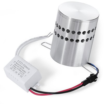 609 - RGB Cylinder LED Ceiling Light Aisle Hallway LightingNight Lights<br>609 - RGB Cylinder LED Ceiling Light Aisle Hallway Lighting<br><br>Bulb Included: No<br>Hole Size: 5.5cm<br>Illumination Field (sq.m.): about 15 square meter<br>Luminous Flux: 270Lm<br>Model: 609 - RGB<br>Optional Light Color: RGB<br>Package Contents: 1 x LED Ceiling Light, 1 x English Manual<br>Package size (L x W x H): 11.00 x 11.00 x 9.00 cm / 4.33 x 4.33 x 3.54 inches<br>Package weight: 0.1850 kg<br>Power Output: 3W<br>Product size (L x W x H): 5.50 x 5.50 x 7.00 cm / 2.17 x 2.17 x 2.76 inches<br>Product weight: 0.1300 kg<br>Shade Material: Aluminum<br>Type: Wall Light