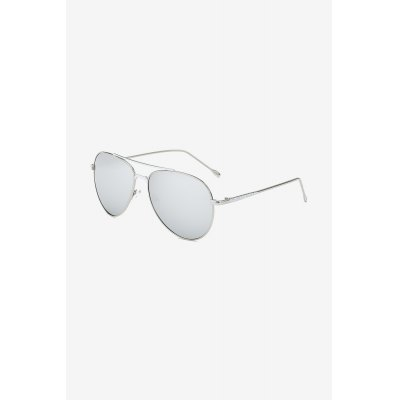 SENLAN Polarized Sunglasses with 62mm Eye Size Metal Frame Goggles