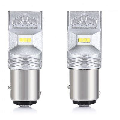 S25 1156 2PCS 480lm CSP 6 - SMD LED Bulb Car Steering Light