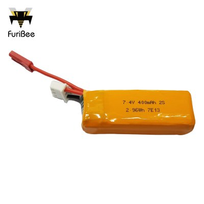 Original FuriBee 7.4V 400mAh 35C 2S Lithium-ion Battery