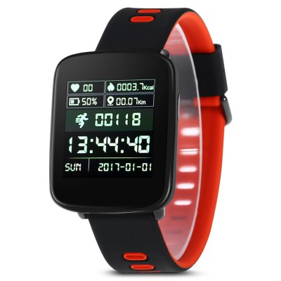 KingWear GV68 IP68 Waterproof SmartwatchSmart Watches<br>KingWear GV68 IP68 Waterproof Smartwatch<br><br>Anti-lost: Yes<br>Available Color: Green,Orange,Pink<br>Band material: Silicone<br>Band size: 24 x 2.2 cm<br>Battery  Capacity: 360mAh<br>Bluetooth calling: Callers name display,Phone call reminder<br>Bluetooth Version: Bluetooth 4.0<br>Brand: KingWear<br>Built-in chip type: MTK2502D<br>Case material: Plastic<br>Charging Time: About 3hours<br>Compatability: Android 4.4 and iOS 8.0 above<br>Compatible OS: Android, IOS<br>Dial size: 4.8 x 3.9 x 1.35 cm<br>Groups of alarm: 5<br>Health tracker: Heart rate monitor,Pedometer,Sedentary reminder,Sleep monitor<br>IP rating: IP68<br>Language: English,French,German,Hebrew,Polish,Portuguese,Russian,Spanish,Turkish<br>Locking screen : 6<br>Messaging: Message reminder<br>Notification type: Wechat, G-mail, Facebook, Twitter<br>Operating mode: Press button, Touch Screen<br>Package Contents: 1 x KingWear GV68 Smartwatch, 1 x USB Charger, 1 x English User Manual<br>Package size (L x W x H): 15.70 x 11.00 x 4.50 cm / 6.18 x 4.33 x 1.77 inches<br>Package weight: 0.2020 kg<br>People: Female table<br>Product size (L x W x H): 24.00 x 3.90 x 1.35 cm / 9.45 x 1.54 x 0.53 inches<br>Product weight: 0.0503 kg<br>RAM: 32MB<br>Remote control function: Remote Camera<br>ROM: 32MB<br>Screen: TFT<br>Screen resolution: 240 x 240<br>Screen size: 1.54 inch<br>Shape of the dial: Rectangle<br>Standby time: About 7 days<br>Type of battery: Li-polymer<br>Waterproof: Yes<br>Wearing diameter: 13.5 - 22.5 cm