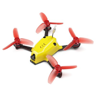 KingKong 110GT 117mm Mini FPV Racing DroneBrushless FPV Racer<br>KingKong 110GT 117mm Mini FPV Racing Drone<br><br>Battery (mAh): 350mAh<br>Battery Coulomb: 35C<br>Brand: KingKong<br>Charging Time.: about 1 hour<br>Firmware: BLHeli-S<br>Flight Controller Type: F3<br>Flying Time: 6-10mins<br>Functions: DShot600, Multishot, Oneshot125, Oneshot42, DShot300, DShot150<br>Input Voltage: 2 - 3S<br>KV: 8500<br>Model: 1105<br>Motor Type: Brushless Motor<br>No. of Cells: 2 - 3S<br>Package Contents: 1 x Frame Kit ( Battery Included ), 1 x USB Cable, 1 x Battery Strap, 6 x Propeller, 4 x Propeller Guard, 1 x Spare Canopy, 1 x Connection Cable, 1 x Pack of Screws<br>Package size (L x W x H): 16.60 x 12.60 x 6.20 cm / 6.54 x 4.96 x 2.44 inches<br>Package weight: 0.4550 kg<br>Product weight: 0.0637 kg<br>Sensor: CMOS<br>Type: Frame Kit<br>Version: PNP<br>Video Resolution: 800TVL ( horizontal )