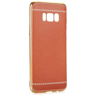 ASLING Leather Grain Phone CaseSamsung Cases/Covers<br>ASLING Leather Grain Phone Case<br><br>Brand: ASLING<br>Compatible with: Samsung Galaxy S8<br>Features: Anti-knock, Back Cover<br>Material: TPU<br>Package Contents: 1 x Phone Case<br>Package size (L x W x H): 22.00 x 13.00 x 2.00 cm / 8.66 x 5.12 x 0.79 inches<br>Package weight: 0.0460 kg<br>Product size (L x W x H): 15.00 x 7.00 x 1.00 cm / 5.91 x 2.76 x 0.39 inches<br>Product weight: 0.0210 kg<br>Style: Modern, Pattern