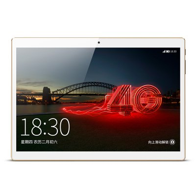 Onda V10 4G PhabletTablet PCs<br>Onda V10 4G Phablet<br><br>2G: GSM 850/900/1800/1900MHz<br>3.5mm Headphone Jack: Yes<br>3G: WCDMA B1 2100MHz,WCDMA B2 1900MHz,WCDMA B5 850MHz,WCDMA B8 900MHz<br>4G: B1 2100MHz,B3 1800MHz,B7 2600MHz,TD-LTE Band 38/39/40/41<br>AC adapter: 100-240V 5V 2A<br>Additional Features: MP4, Alarm, Bluetooth, Browser, 3G, Wi-Fi, Phone, People, MP3, Gravity Sensing System, GPS, E-book<br>Back camera: 5.0MP (with flash light and auto focus)<br>Battery / Run Time (up to): 5 hours video playing time<br>Battery Capacity(mAh): 6000mAh<br>Bluetooth: Yes<br>Brand: Onda<br>Camera type: Dual cameras (one front one back)<br>CDMA: CDMA 2000: BC0<br>Core: Octa Core, 1.3GHz<br>CPU: MTK6753 64bit<br>CPU Brand: MTK<br>External Memory: TF card up to 128GB (not included)<br>Front camera: 2.0MP<br>G-sensor: Supported<br>Google Play Store: Yes<br>GPS: Yes<br>GPU: Mali-720<br>IPS: Yes<br>Languages support : Supports multi-language<br>Micro USB Slot: Yes<br>MS Office format: PPT, Excel, Word<br>Music format: MP3, FLAC, AAC, WAV, OGG, WMA<br>OS: Android 7.0<br>Package size: 26.00 x 19.00 x 4.70 cm / 10.24 x 7.48 x 1.85 inches<br>Package weight: 0.8130 kg<br>Picture format: JPEG, PNG, JPG, GIF, BMP<br>Product size: 24.00 x 19.00 x 0.83 cm / 9.45 x 7.48 x 0.33 inches<br>Product weight: 0.4900 kg<br>RAM: 2GB<br>ROM: 32GB<br>Screen resolution: 1920 x 1200 (WUXGA)<br>Screen size: 10.1 inch<br>Screen type: Capacitive (10-Point)<br>SIM Card Slot: Standard SIM card slot, Dual SIM, Dual Standby<br>Support Network: WiFi, 2G, 4G, Built-in 3G<br>Tablet PC: 1<br>TD-SCDMA: TD-SCDMA B34/B39<br>TF card slot: Yes<br>Type: Phablet<br>USB Cable: 1<br>Video format: 3GP, MP4<br>WIFI: 802.11 a/b/g/n/ac wireless internet