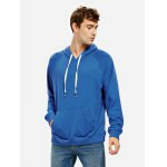 ZANSTYLE Blue Hoodie for Men deal
