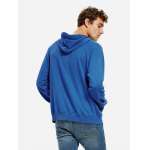 cheap ZANSTYLE Blue Hoodie for Men