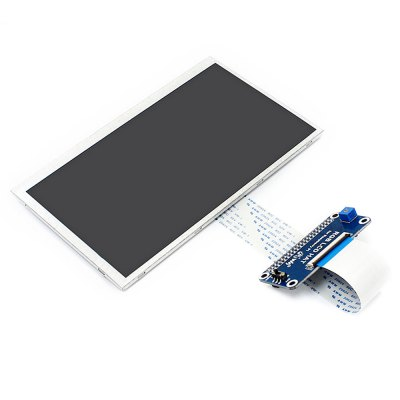 7 inch IPS Display DIP InterfaceLCD,LED Display Module<br>7 inch IPS Display DIP Interface<br><br>Package Contents: 1 x 7 inch IPS LCD Dispaly, 1 x RGB LCD Hat, 1 x LCD Stand<br>Package Size(L x W x H): 22.50 x 16.70 x 7.00 cm / 8.86 x 6.57 x 2.76 inches<br>Package weight: 0.3900 kg<br>Product weight: 0.2400 kg<br>Screen type: LCD<br>Type: Display