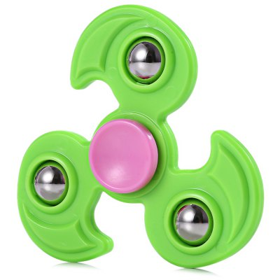 Tri-bar Fire Wheel Steel Ball Fidget Spinner Stress Relief Toy