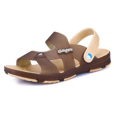 Summer Peep-toe Men Sandals