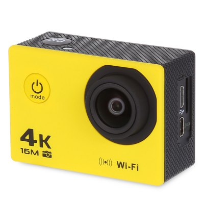 V3 4K WiFi Sport Camera 16MPAction Cameras<br>V3 4K WiFi Sport Camera 16MP<br><br>Aerial Photography: No<br>Anti-shake: No<br>Audio System: Built-in microphone/speaker (AAC)<br>Auto Focusing: No<br>Battery Capacity (mAh): 900mAh<br>Battery Type: Removable<br>Camera Pixel : 16MP / 12MP / 8MP / 5MP / 2MP<br>Camera Timer: No<br>Charge way: AC adapter,USB charge by PC<br>Chipset: Allwinner V3<br>Chipset Name: Allwinner<br>Delay Shutdown : Yes<br>Exposure Compensation: +1,+2,+3,-1,-2,-3,0<br>Features: Wireless<br>Frequency: 50Hz,60Hz<br>Function: Loop-cycle Recording<br>HDMI Output: Yes<br>Image Format : JPG<br>Language: Deutsch,Dutch,English,French,Indonesian,Italian,Japanese,Korean,Polski,Portuguese,Russian,Spanish,Thai<br>Loop-cycle Recording : Yes<br>Loop-cycle Recording Time: 2min,3min,5min<br>Max External Card Supported: TF 64G (not included)<br>Microphone: Built-in<br>Model: V3<br>Motion Detection: No<br>Night vision : No<br>Optical Zoom  : Yes<br>Package Contents: 1 x V3 Sport Camera, 1 x Battery, 1 x Power Adapter, 1 x Waterproof Housing, 1 x Holder, 1 x Bicycle Bracket, 1 x Quick Release Mount + Screw, 3 x Connector + Screw, 1 x Back Cover, 1 x Tripod Mount A<br>Package size (L x W x H): 16.50 x 6.00 x 27.00 cm / 6.5 x 2.36 x 10.63 inches<br>Package weight: 0.5150 kg<br>Product size (L x W x H): 5.92 x 2.98 x 4.10 cm / 2.33 x 1.17 x 1.61 inches<br>Product weight: 0.0580 kg<br>Screen resolution: 320x240<br>Screen size: 2.0inch<br>Screen type: LCD<br>Sensor: CMOS<br>Standby time: 90 minutes<br>Time lapse: Yes<br>Time Stamp: Yes<br>Type: Sports Camera<br>Type of Camera: 4K<br>Video format: MP4<br>Video Frame Rate: 30FPS,60FPS,90fps<br>Video Resolution: 1080P(30fps),1080P(60fps),2.7K (30fps),4K (30fps),720P (30fps),720P (60fps),720P (90fps)<br>Waterproof: Yes<br>Waterproof Rating : 30m ( with the waterproof case )<br>White Balance Mode: Incandescent, Sunny, Cloudy, Fluorescent<br>Wide Angle: 170 degree wide angle<br>WIFI: Yes<br>Working Time: 70 - 90 minutes at 108